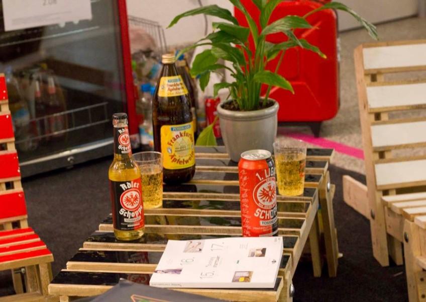 Pallet Table Blickfang