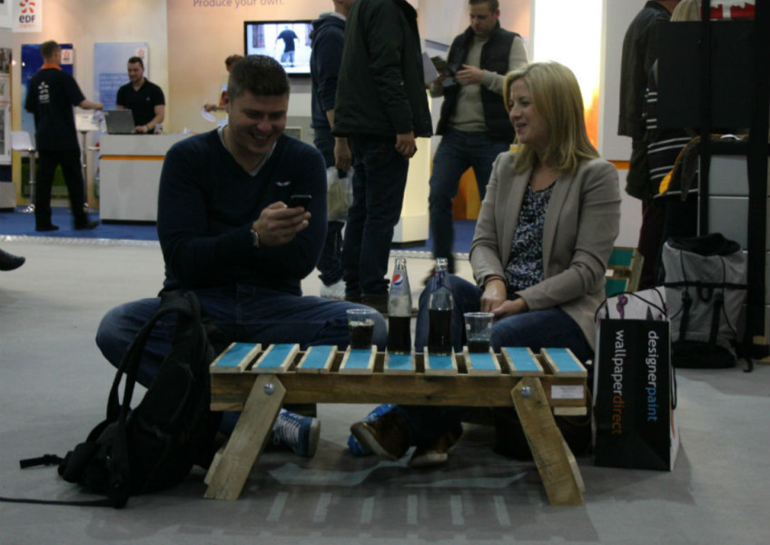 Pallet Table Grand Designs LIve