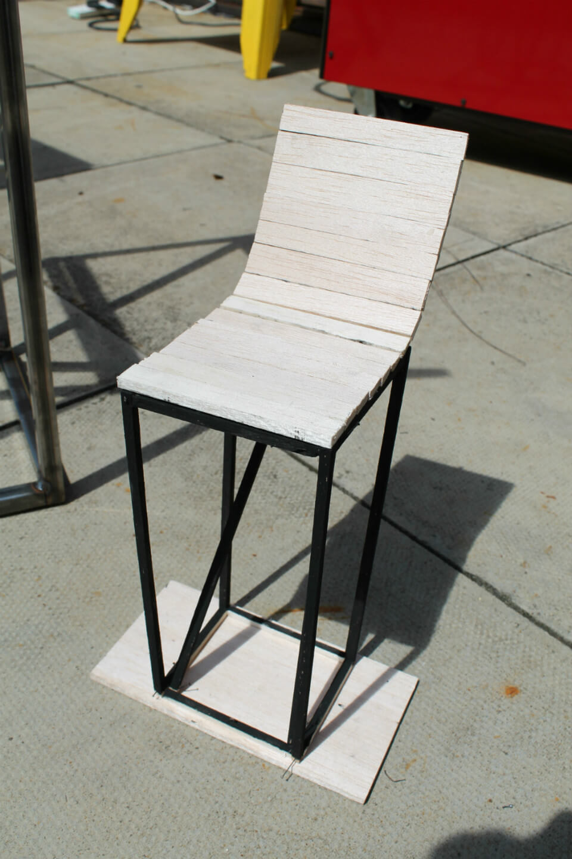 pallet stool