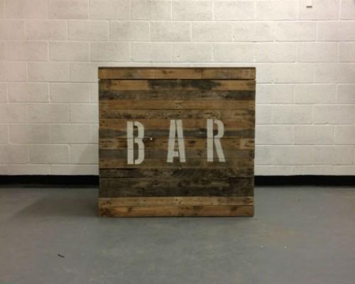 pallet bar hire