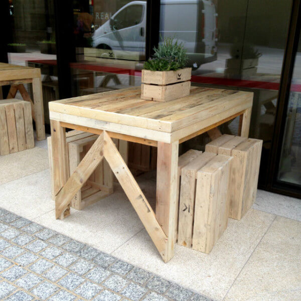 Outdoor Dining Table small