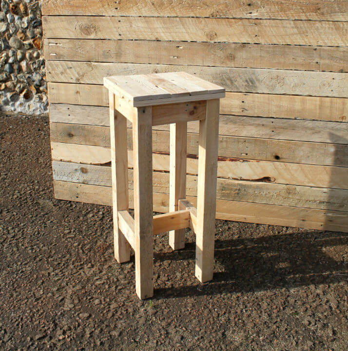 Tower Wooden Bar Stool Pallet Furniture : bar stool 2 from www.gasandairstudios.co.uk size 714 x 720 jpeg 154kB