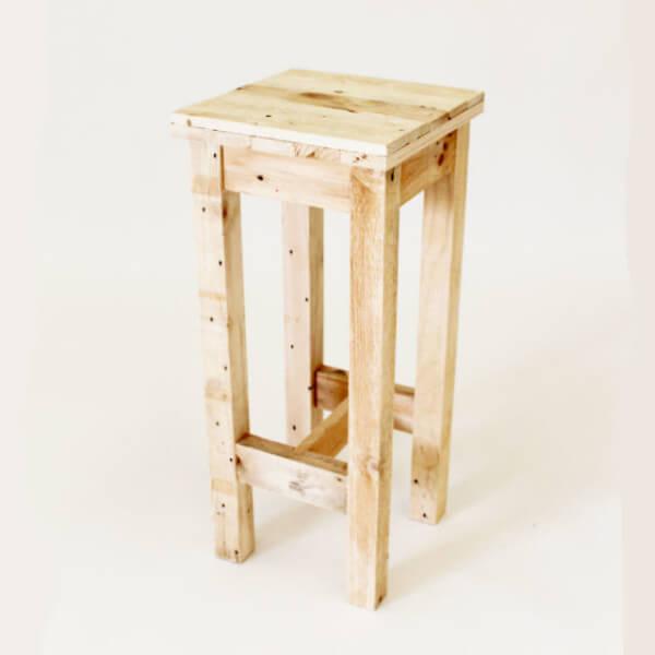 Tower Wooden Bar Stool Pallet Furniture : bar stool 600x600 from www.gasandairstudios.co.uk size 600 x 600 jpeg 40kB