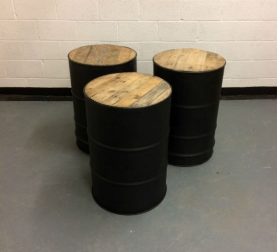 Oil Drum Table Pallet Furniture