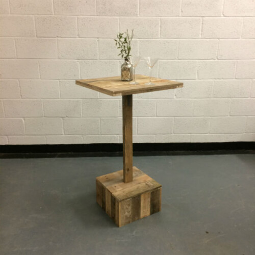 poseur table hire