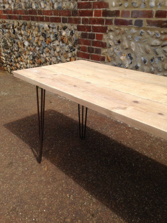 Scaffolding Board Dining Table