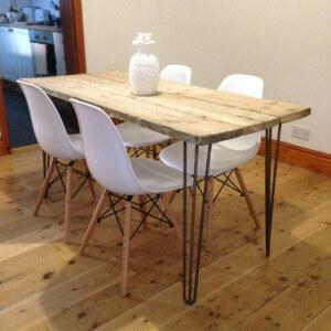 scaffold board table small