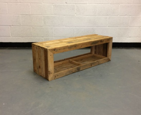 wooden bench hire