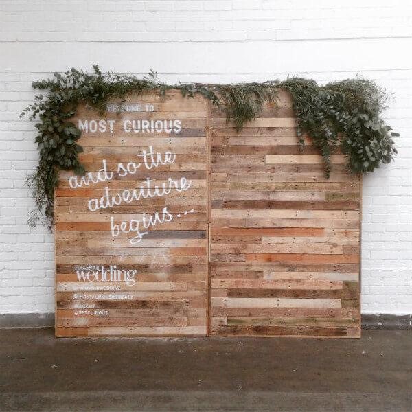 Photo Booth Backdrop Walls Pallet Furniture