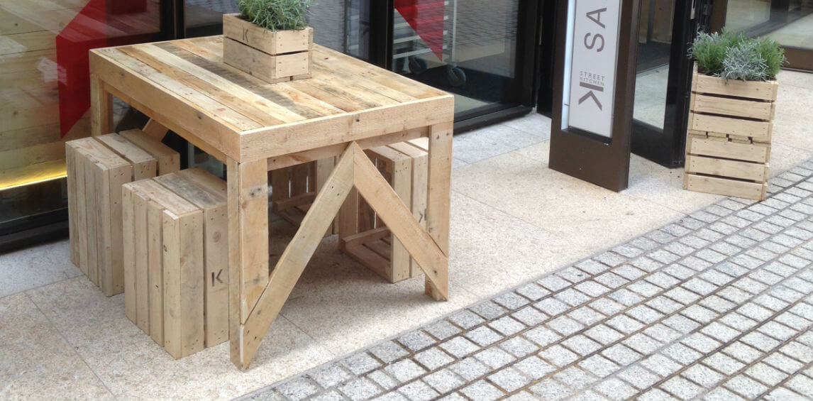 Pallet Furniture UK GasampAir Studios