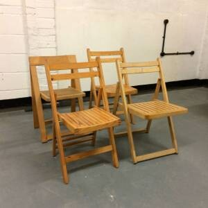 wooden chair hire