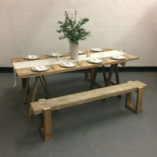 Our Trestle Tables And U0027Scaffu0027 Benches